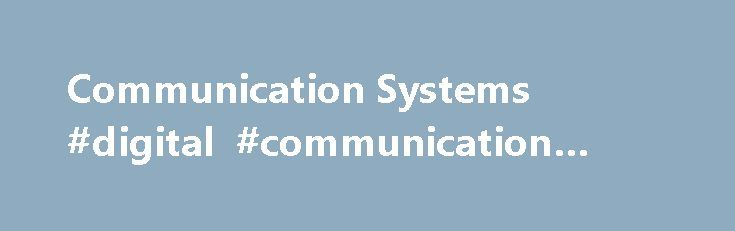 """Communication Systems #digital #communication #systems http://botswana.remmont.com/communication-systems-digital-communication-systems/  # Communication Systems/Analog vs. Digital There is lots of talk nowadays about buzzwords such as """"Analog"""" and """"Digital"""". Certainly, engineers who are interested in creating a new communication system should understand the difference. Which is better, analog or digital? What is the difference? What are the pros and cons of each? This chapter will look at…"""
