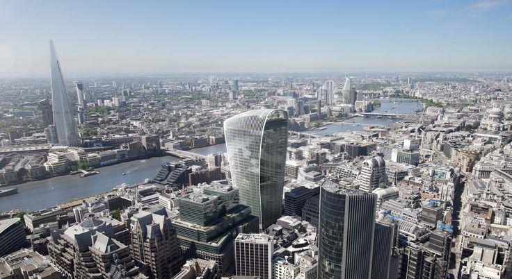 20 Fenchurch Street | Rafael Viñoly Architects | Aerial view