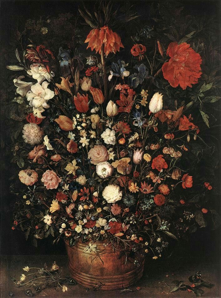The Great Bouquet 1607 Oil on wood, 98 x 73 cm Kunsthistorisches Museum, Vienna