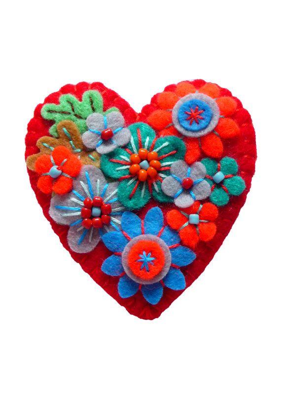 FB073   Japanese Art Inspired Heart Shape by designedbybettyshek