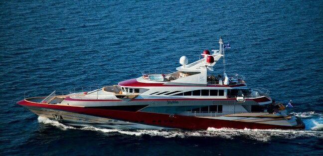 "Motoryacht JoyMe is a 49.91m motor yacht, custom built in 2011 by Philip Zepter Yachts. JoyMe yacht has a steel hull with a aluminium superstructure with a beam of 9.12m  (29'11""ft) and a 2.55m  (8'4""ft) draft ."