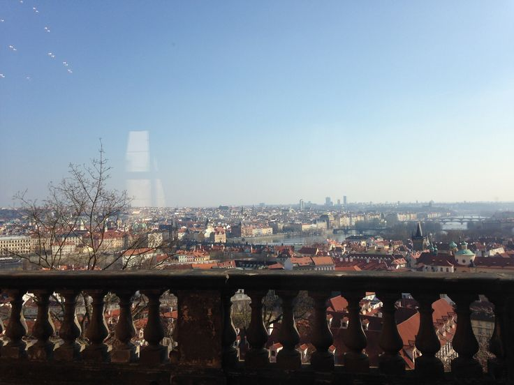 There are so many great places to view Prague from since the city is in a valley--the view from Prague Castle was one of my favorites!
