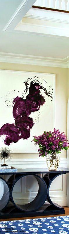Purple home decor purple interior