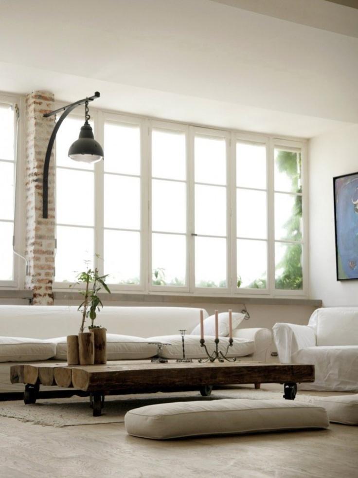 So simple, clean, a minimalist' dream.