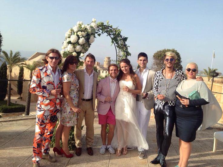 My wedding @ cap rocat in Mallorca