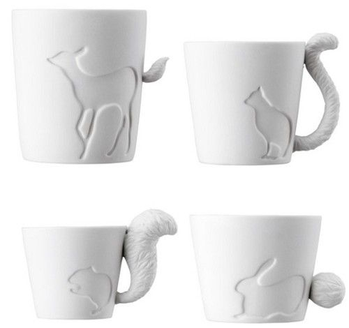 Animal Coffee Mugs.