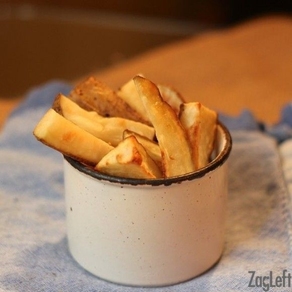 How to make french fries in a toaster oven.