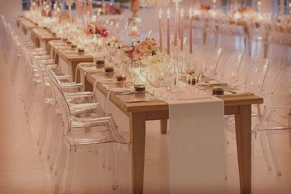 Silla para boda transparente #bodas #ElBlogdeMaríaJosé #Sillas