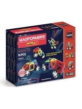 Magformers, Set constructie magnetic - WOW, 16 piese