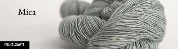 Awesome yarn! I was given a skein of Tosh Vintage Logwood...might have to get some more!
