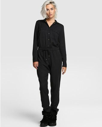 Mono largo de mujer Pepe Jeans en negro