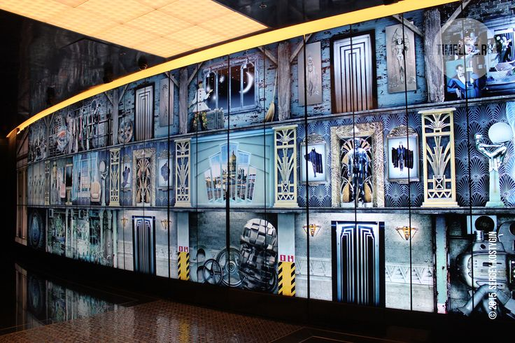Leningrad Centre 99 screens videowall with extra resolution content by Timeline