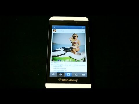 Instagram on BlackBerry Z10!