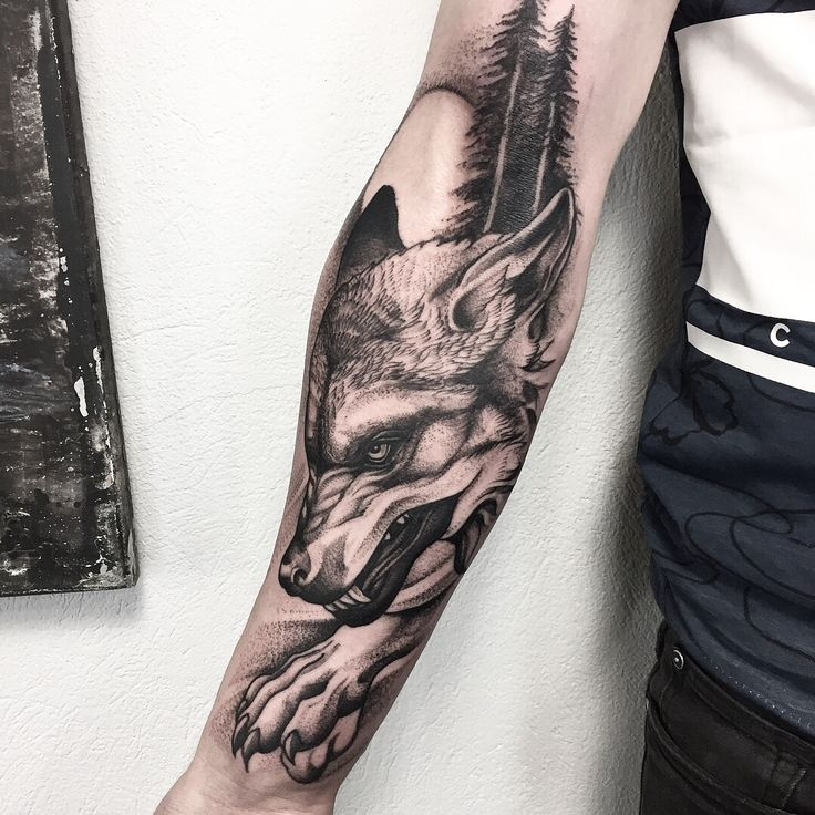 Lovely Lone Wolf Tattoos In Different Styles 2018: 41 Best Law Enforcement Tattoos Images On Pinterest