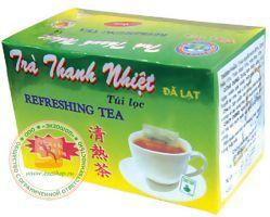 Оздоровительный чай на основе артишока, касии и сафоры -  (TRA THANH NHIET - DA LAT - TUI LOC) - 20 пакетиков. Пр-во Вьетнам.