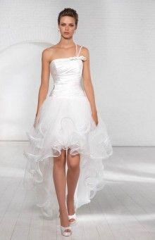 abito sposa corto davanti