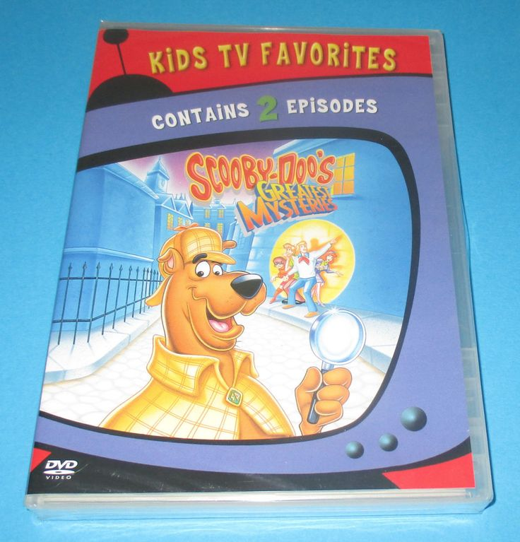 ONE CENT! Scooby-Doos Greatest Mysteries (DVD, 2006) NEW- SEALED- FAST SHIP! #scoobydoo #animated #children #kids #Movies #tvshows http://stores.ebay.com/vinylrockretro/