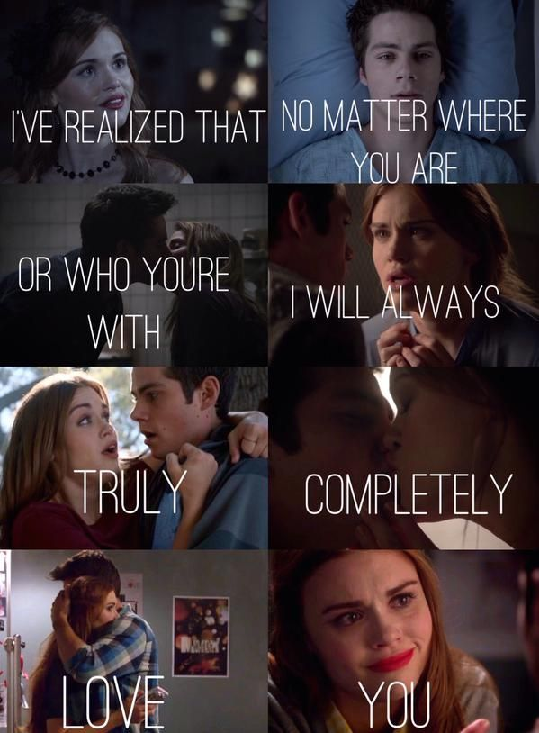 stiles and lydia relationship