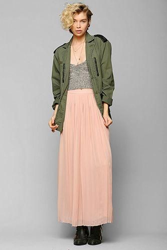 11 way-cool maxi skirts!   Fashion   Pinterest   Maxis, Maxi ...