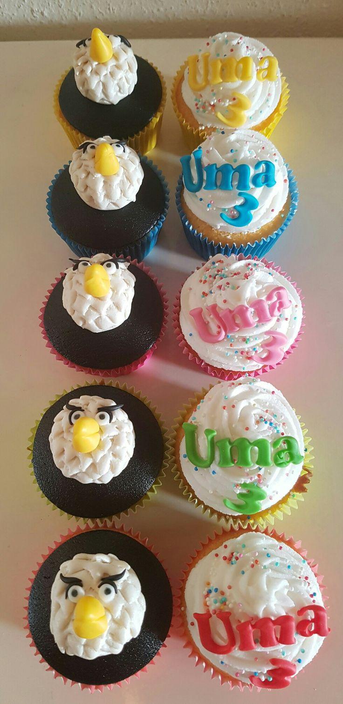 Raaf (huisje boompje beestje) cupcakes
