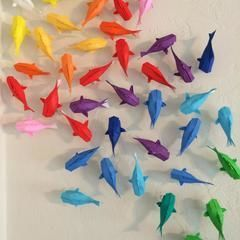 How To:  Wall Of Rainbow Koi