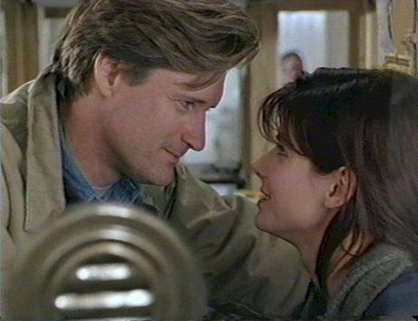 While You Were Sleeping - Oh, that Bill Pullman look.  ;)