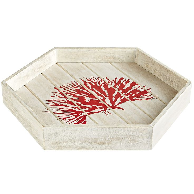 Vintage Wood Slab Coffee Table With Coral Reef: 134 Best *Serveware > Serving Trays* Images On Pinterest