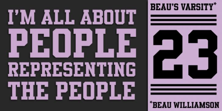 Beau's Varsity font download | Fonts in 2019 | New fonts