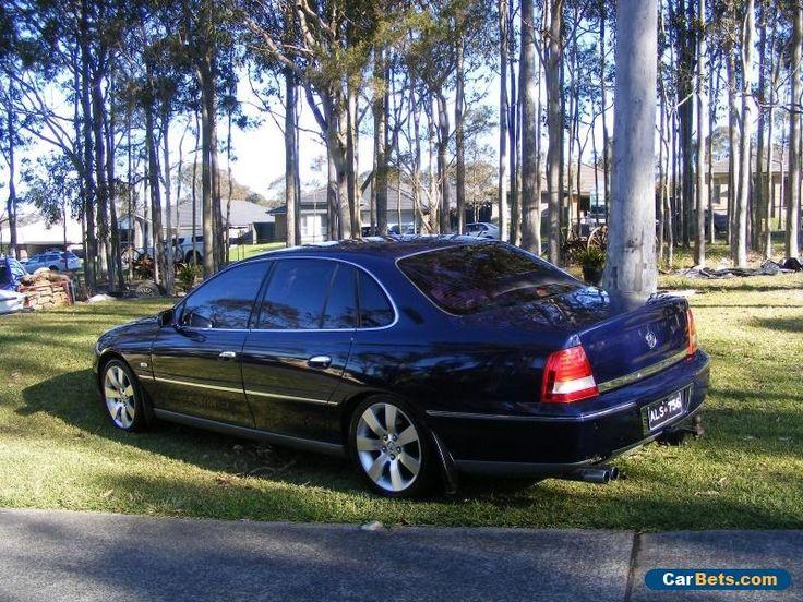 "Holden WL STATESMAN LS1 Auto LPG 18"" HSV rims Sat Nav NEW paint NO RESERVE 17REG #holden #statesman #forsale #australia"