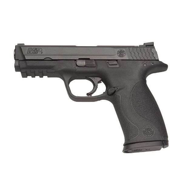 "SKU: 309301 Model: M&P Caliber: .9MM Capacity: 17+1 Rounds No Magazine Safety 3 Backstraps Barrel Length: 4.25"" Front Sight: Steel Ramp Dovetail Mount Rear Sight: Stee"