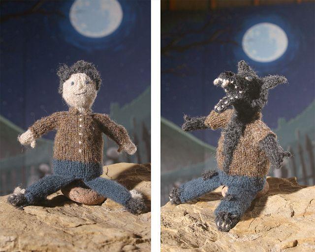 Ravelry: Topsy Turvy Werewolf pattern by Annie Watts