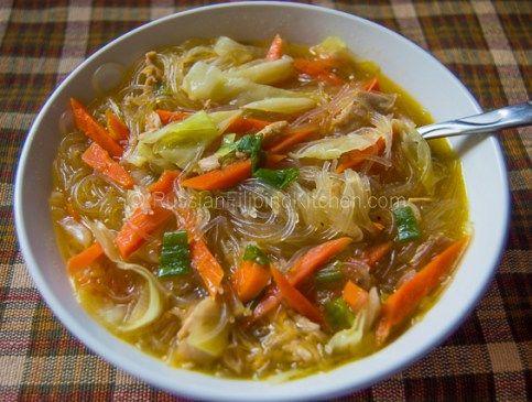chicken sotanghon soup 14