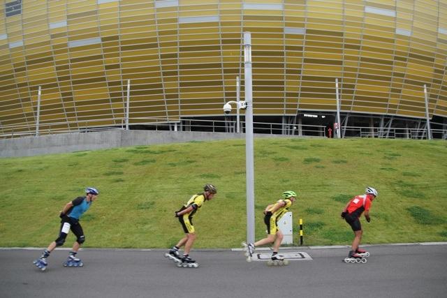 #ilovegdn rollerblading PGE Arena