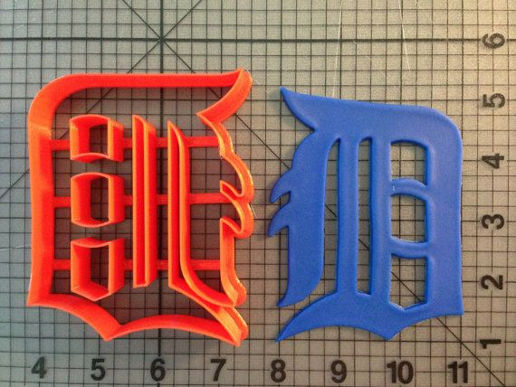 The Detroit Tigers Cookie Cutter
