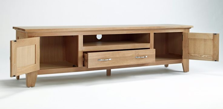 Sherwood Oak Large TV Unit