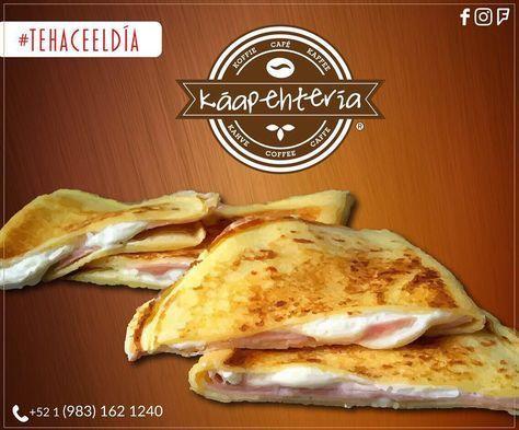Qué delicia comenzar este sábado deleitándose con alguna de nuestras #CrepasSaladas o #dulces... la que sea de tu preferencia! SERVICIO A DOMICILIO: (983) 162 1240 #Promociones #KáapehCOMBO #Desayunos #Káapehtear #Káapehtería #TeHaceElDía #ConsumeLocal #Cafetería #Café #Alimentos #Postres #Pasteles #Panes #Cancún #Chetumal #México