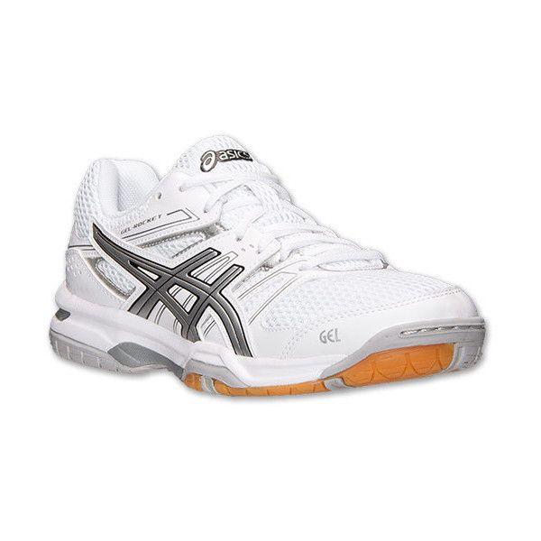 ASICS GEL QnxGC Rocket 7 Volleyball Shoes Silver Bulk TopDeals