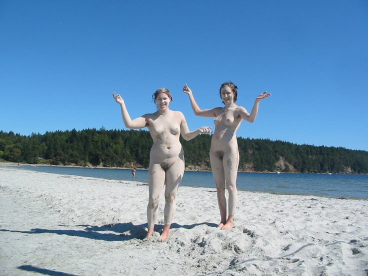 Nudists On Hornby....a common vista :)