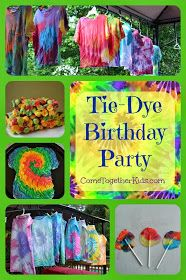 Come Together Kids: Tie Dye Birthday Party