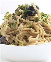 Weigh-Less Online - One Pot Baby Marrow And Mushroom Pasta