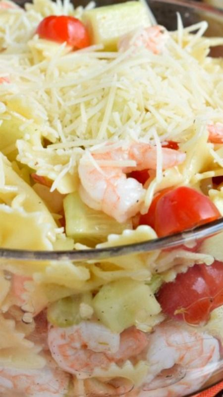 1000 ideas about shrimp pasta salads on pinterest for Prawn and pasta salad recipes