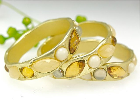 Gold & Gemstone Rings