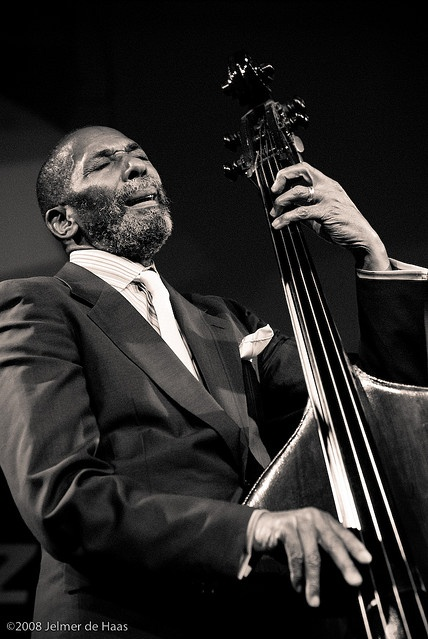 Ron Carter playing a standing base. The only way to go for jazz.
