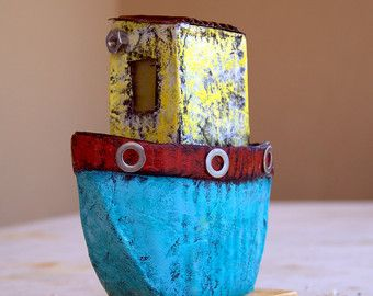 Paper mache Boat