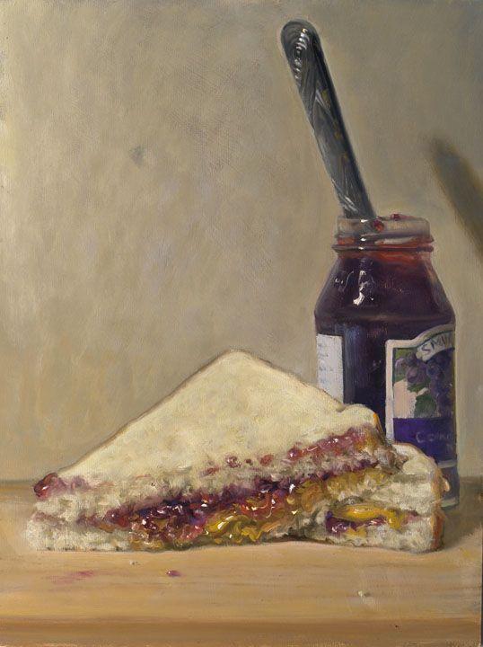 Peanut Butter Jelly Sandwich by Duane Keiser