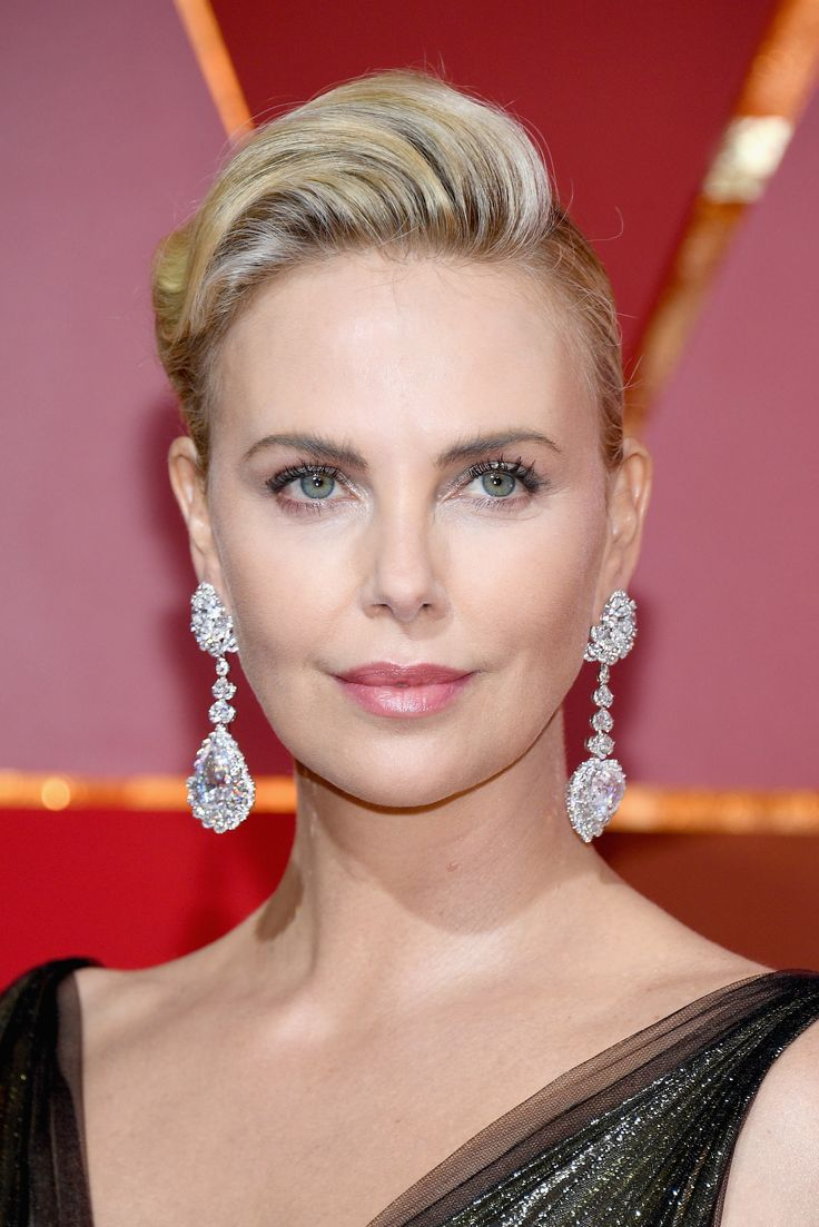 The Best Jewelry at Oscars 2017 - Charlize Theron in Chopard