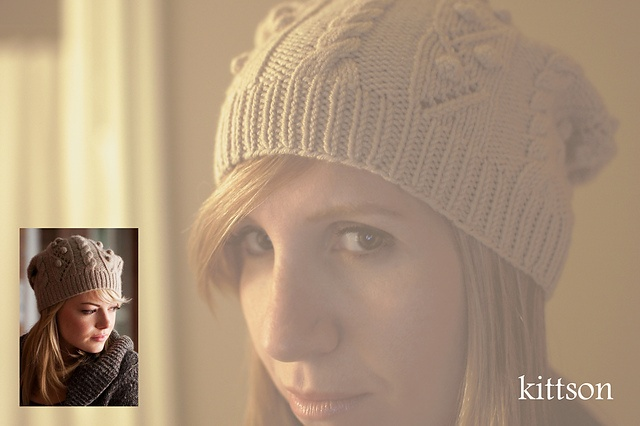 Ravelry: kittson's Emma Stone's adorable Spiderman hatEmma Stone