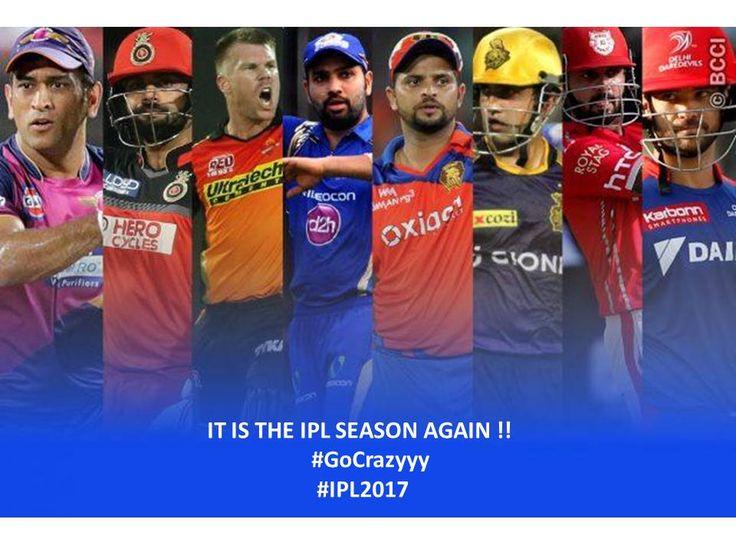 Wooohhooo !!! It is #SeasonIPL Season to work SMART ;) and reach home FAST !! #worksmartandfast #gocrazyyyy #IPL2017 #crazyyfans #cricketfans #teamKrown #Krowninnovations  Which #IPLTeam do you support people ???