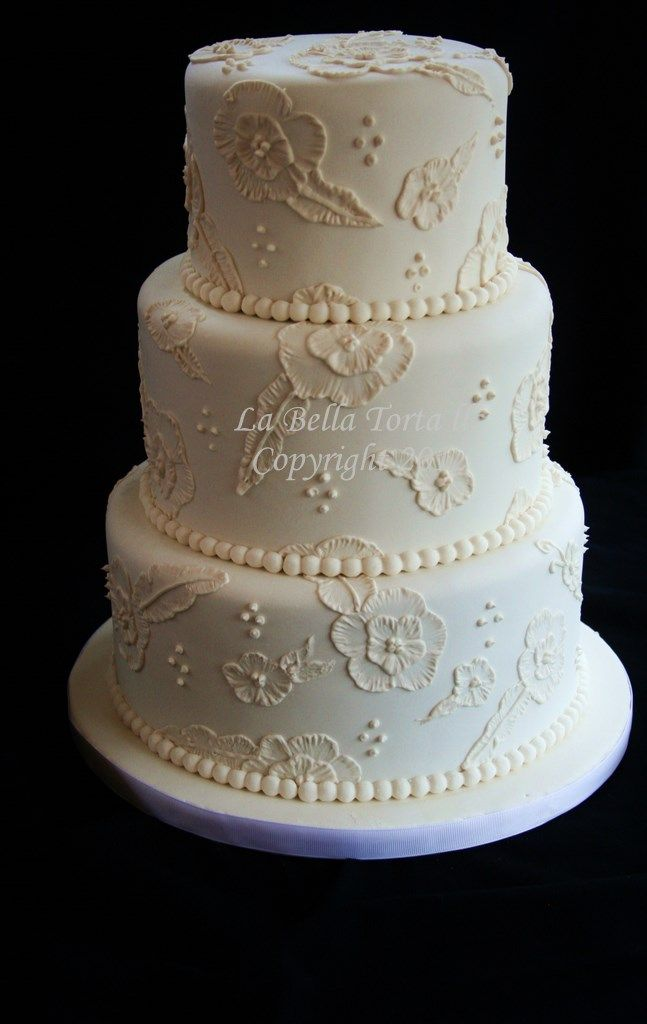 embroidered lace wedding cake white icing 16 best images about brush embroidery wedding cakes on 14011
