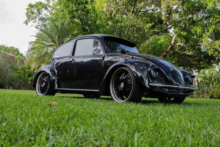 Dark Ride, estupendo #Volkswagen Escarabajo desde Tabasco #VWLovers http://www.vochomania.mx